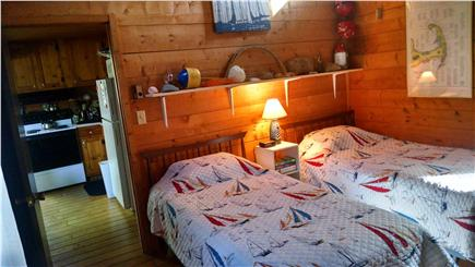 South Wellfleet Cape Cod vacation rental - 1 of 2 Downstairs Bedrooms
