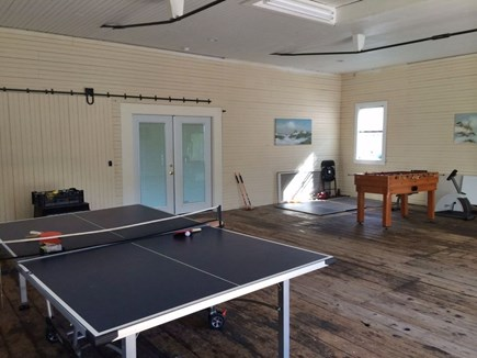 Plymouth MA vacation rental - Barn game room with ping pong & foosball