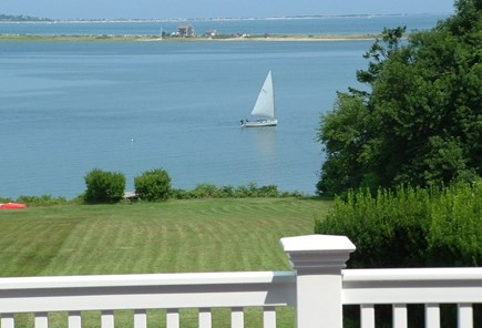 Plymouth MA vacation rental - View of the waterfront from second  back deck