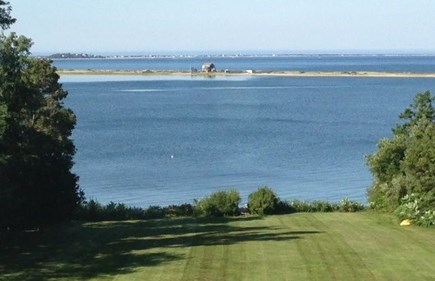 Plymouth MA vacation rental - Stunning view over the expansive lawn