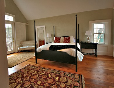 Truro Cape Cod vacation rental - Large master suite w/delux bath amen.opens to deck