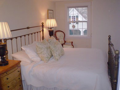 Truro Cape Cod vacation rental - Charming bedroom with king bed