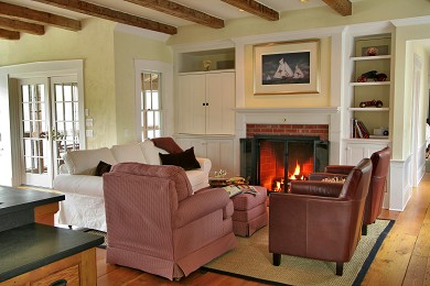 Truro Cape Cod vacation rental - Cozy family room