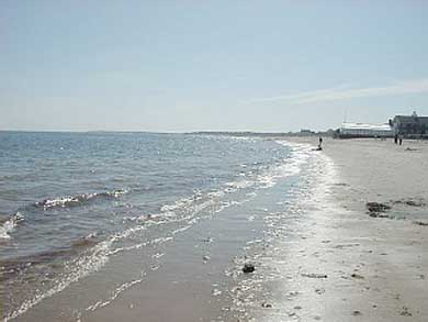 Yarmouth Cape Cod vacation rental - This is the beach across the street from our home