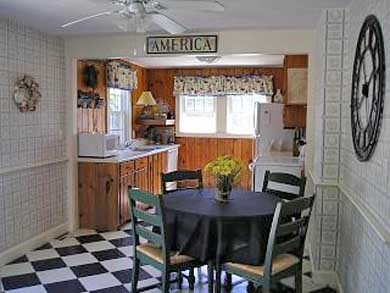 Yarmouth Cape Cod vacation rental - Atrium door from the deck opens to the fully equipped kitchen