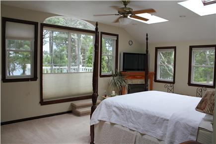 Harwich Cape Cod vacation rental - Lake view master suite