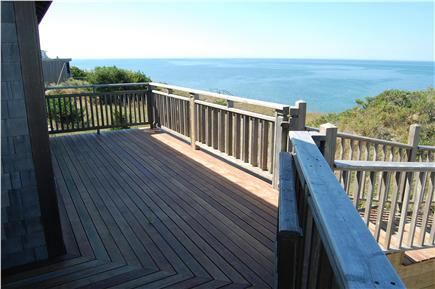 Truro Cape Cod vacation rental - View down the coast