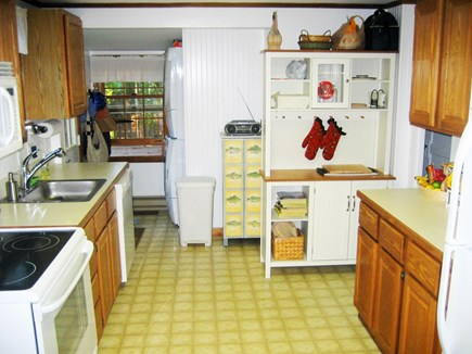 Falmouth Cape Cod vacation rental - Modern K: dishwasher, disposal, microwave, W&D