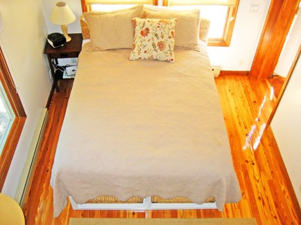Falmouth, Old Silver Beach Cape Cod vacation rental - Morning sun in a cozy, queen Master BR with private bath
