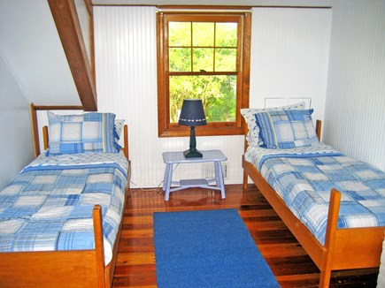 Falmouth, Old Silver Beach Cape Cod vacation rental - Perfect for children - 3 twin beds upstairs (2 beds shown)