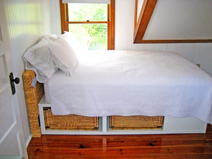 Falmouth Cape Cod vacation rental - Guest BR: queen bed, central A/C, WiFi on 2nd floor