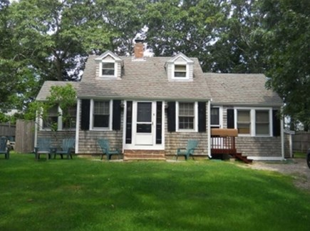 Falmouth Cape Cod vacation rental - Large front yard on a quiet street at Old Silver Beach