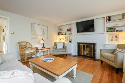 Brewster Cape Cod vacation rental - Great Room with Flat Screen TV, Piano and More