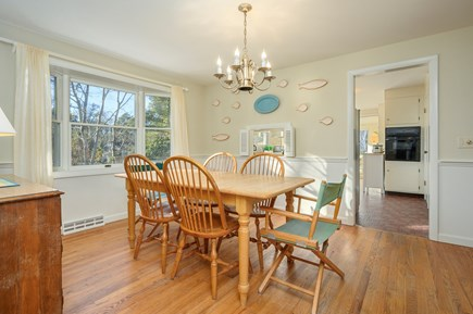 Brewster Cape Cod vacation rental - Dining Room to Kitchen