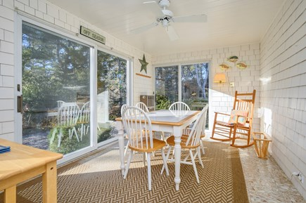 Brewster Cape Cod vacation rental - Breakfast/Sunroom
