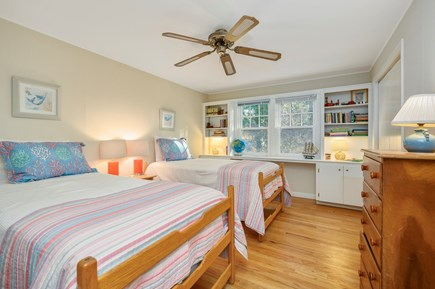 Brewster Cape Cod vacation rental - Bedroom 2 (twins can be combined to form queen)
