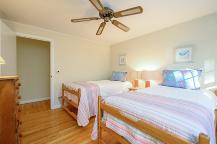 Brewster Cape Cod vacation rental - Bedroom 2 - (twins can be combined to form queen)