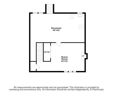 Brewster Cape Cod vacation rental - Lower Level Floor Plan