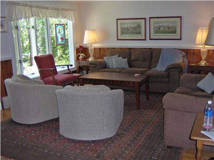 South Chatham Cape Cod vacation rental - Comfortable Living Room