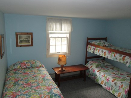South Chatham Cape Cod vacation rental - 4th Bedroom, 2nd floor--bath with shower on 2nd floor