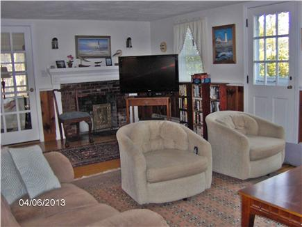 South Chatham Cape Cod vacation rental - More of Spacious Living Room