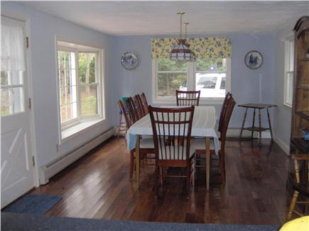 South Chatham Cape Cod vacation rental - Spacious Dining Room with 8 foot dining table