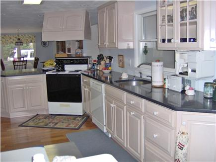 South Chatham Cape Cod vacation rental - Modern Kitchen  (washer/dryer off kitchen area)