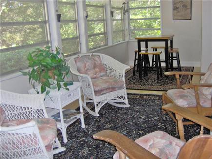 South Chatham Cape Cod vacation rental - Enclosed porch