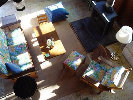 Chatham Cape Cod vacation rental - Overhead view of sunny living area