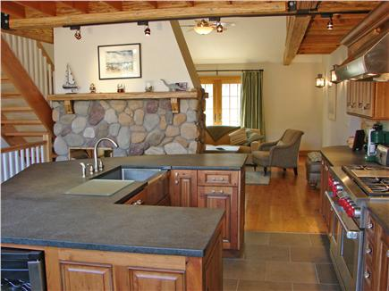 Truro Cape Cod vacation rental - Beautiful, modern kitchen with upscale appliances