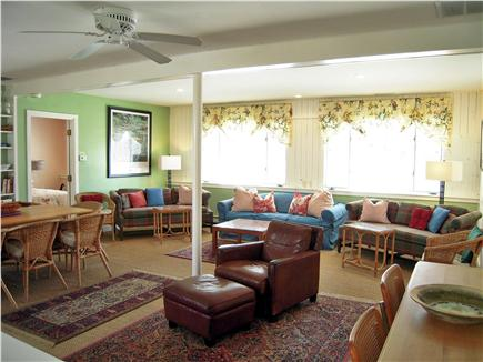 Chatham Harbor, Chatham Town Cape Cod vacation rental - Plus,  600 SF great room for large gatherings with 2nd 50'' TV...
