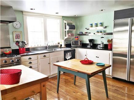 Chatham Harbor, Chatham Town Cape Cod vacation rental - Gourmet main kitchen:Viking commercial range,granite,48'' Subzero
