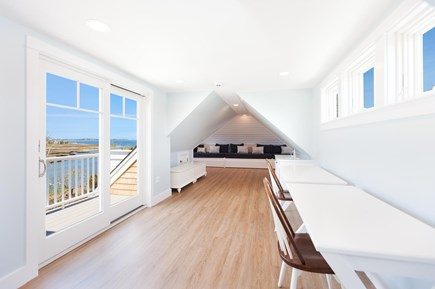 Barnstable Village Cape Cod vacation rental - 3rd floor with sliding glass doors to deck, sleeps 6