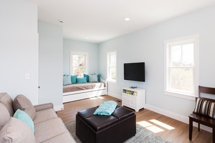 Barnstable Village Cape Cod vacation rental - First floor den/bedroom has a daybed and trundle