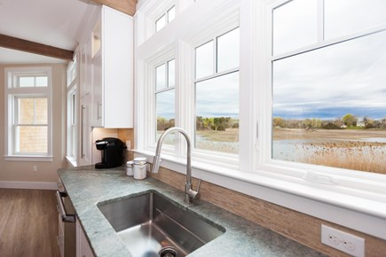 Barnstable Village Cape Cod vacation rental - Gorgeous views out the kitchen windows