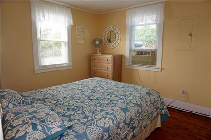 West Dennis Cape Cod vacation rental - Master bedroom with queen bed, TV with Cable