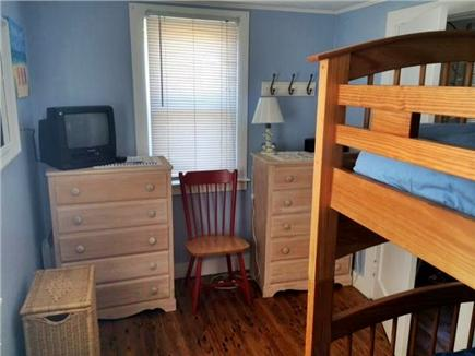 West Dennis Cape Cod vacation rental - 3rd Bedroom - Bunks with VCR/TV