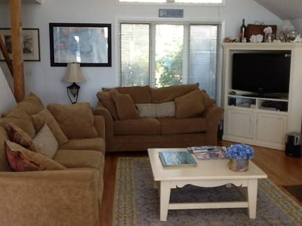Falmouth, Waquoit Bay Cape Cod vacation rental - Couches and TV