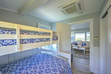 Dennis Port Cape Cod vacation rental - Twin over full.