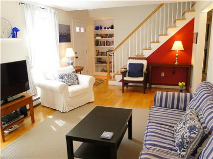 Chatham Cape Cod vacation rental - Living room with Cape Cod charm