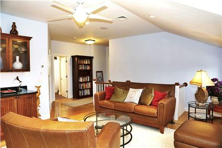 North Eastham Cape Cod vacation rental - Upstairs family room and wet bar