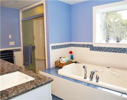 North Eastham Cape Cod vacation rental - Master bath