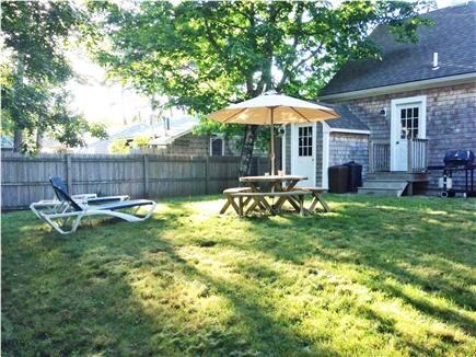 South Yarmouth AKA Bass River Cape Cod vacation rental - Rear view of home and yard