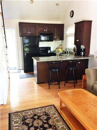 South Yarmouth AKA Bass River Cape Cod vacation rental - Kitchen with granite counters and glass top stove