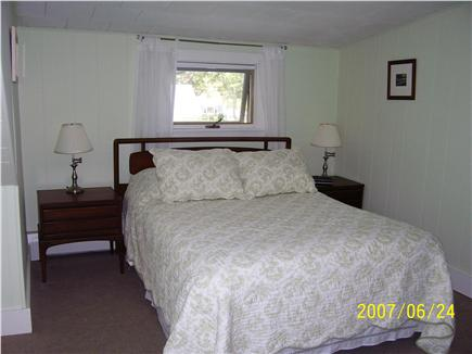 Falmouth Heights Cape Cod vacation rental - Bedroom #3 master upstairs