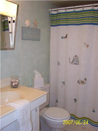 Falmouth Heights Cape Cod vacation rental - Bathroom downstairs