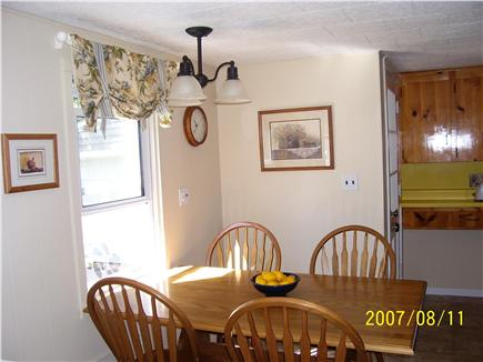 Falmouth Heights Cape Cod vacation rental - Kitchen Eating Area