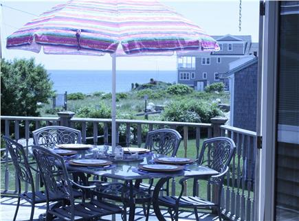 Plymouth MA vacation rental - View from Dining Room on to  Deck