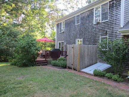 North Eastham Cape Cod vacation rental - Backyard, Deck, Outdoor Shower