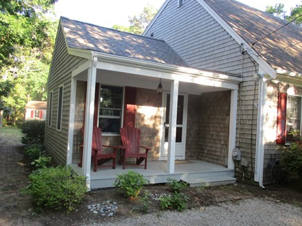 North Eastham Cape Cod vacation rental - Front Porch Off Extra Family Room